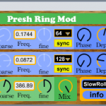 Free M4L Ring Modulator from Preshish Moments